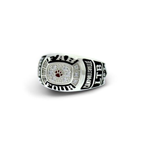Campbellsville Fab Four Ring