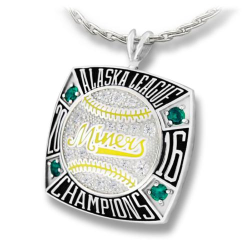 Miners Alaska League Champions Pendant