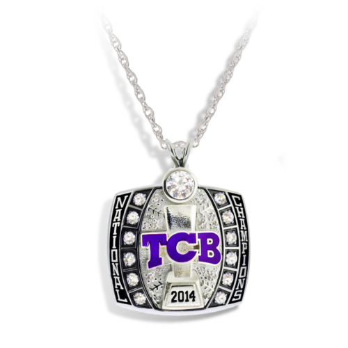 Team Connecticut Baseball Pendant